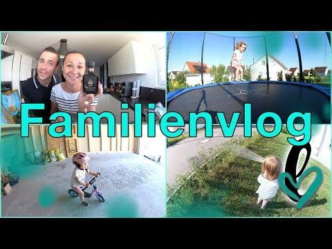 Familienvlog | mittwochs bei Lumelowu | Foodhaul | Garten gießen |