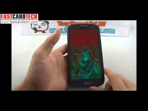 HDC GALAXY S3 World first MTK6588 quad core Phone Prototype SAMSUNG GALAXY S3 Ultimate Clone