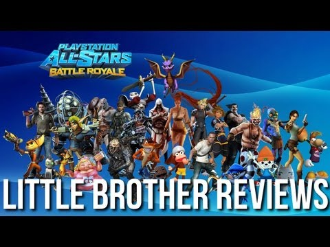 Little Brother Reviews - Playstation All-Stars: Battle Royal (PS3)