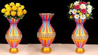 How to Maka Gorgeous DIY Flower Vase Ideas You Can Do Easily At Home | Easy Floral Arrangement Idea