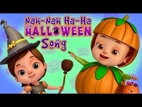 Nah Nah Ha Ha - Halloween Song | Baby Ronnie | Nursery Rhymes & Kids Songs | 3D Rhymes