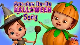 Nah Nah Ha Ha - Halloween Song | Baby Ronnie | Nursery Rhymes & Kids Songs | 3D Rhymes