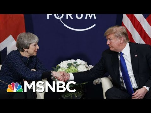 President Donald Trump: ?False? That UK Leader And I Have Bad Relationship | Velshi & Ruhle | MSNBC