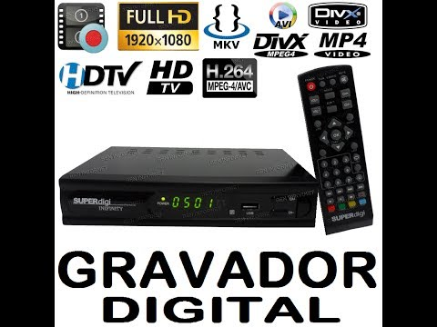 HD GRAVADOR MEDIA CENTER + CONVERSOR HD TV DIGITAL FULL HD 1920X1080 (FABRICANTE BRASIL)