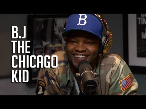 B.J The Chicago Kid Stops By Real Late With Peter Rosenberg!!