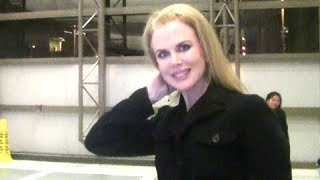 Nicole Kidman Sends Her Holiday Love To All [2012]