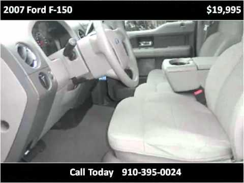 2007 Ford F-150 Used Cars Wilmington NC
