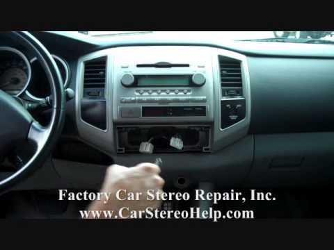 Toyota Tacoma Stereo Removal 2005-2010
