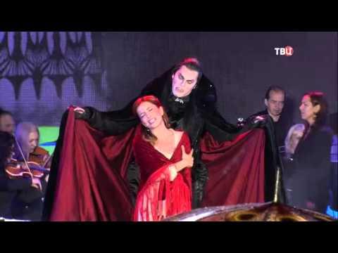 Е. Газаева и И. Ожогин - Час настал - Бал вампиров 06.09.2015 - Московский Бродвей