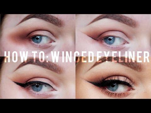 How to: Winged Eyeliner Tutorial! | Rachel Leary