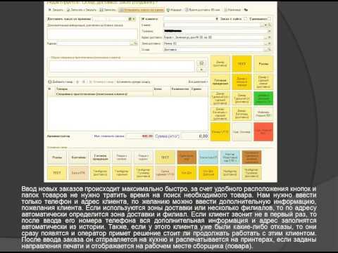 Программа для доставки еды, суши, роллов, пиццы Удобное решение: Служба доставки + Фастфуд 3.0