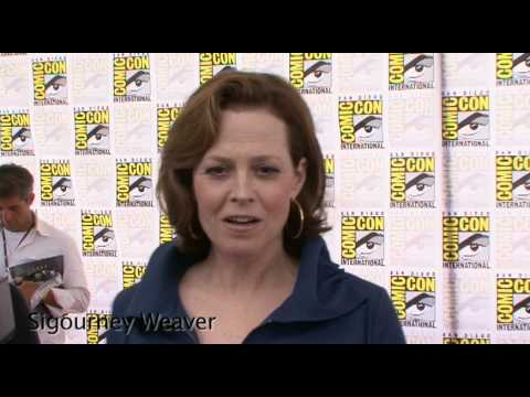 Sigourney Weaver talks about 'Avatar' at Comic-Con