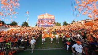 Clemson runs down the hill in 360