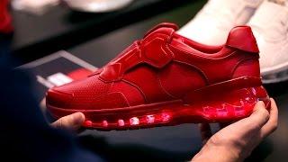 Lenovo's smart running shoe