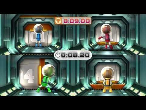 Wii Party U - Moonbase Escape