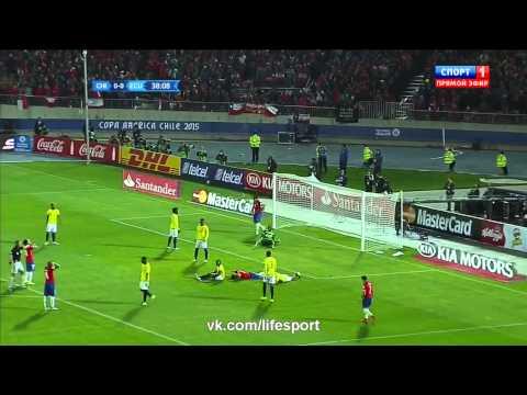 Кубок Америки! Чили 2:0 Эквадор