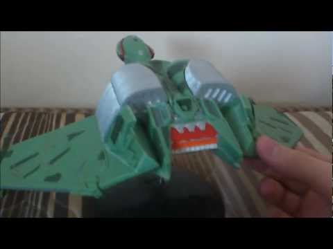 Star Trek AMT 1/350 Scale Model of Klingon Bird of Prey HD by Trekkie2409
