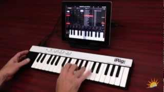 iRig KEYS - portable keyboard for iPad - Music1