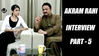 Akram Rahi   Anchor - Amandeep Kaur   Interview   Part 5   Japas Music