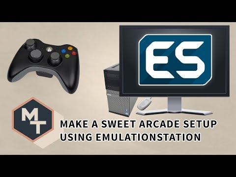 Make a sweet looking arcade setup using Emulationstation / Maximum Tips