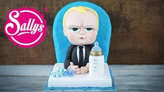 The Boss Baby Motivtorte / 3D Torte