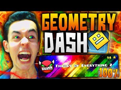"""Geometry Dash! """"THEORY OF EVERYTHING 2"""" COMPLETADO 100% #26 - TheGrefg"""