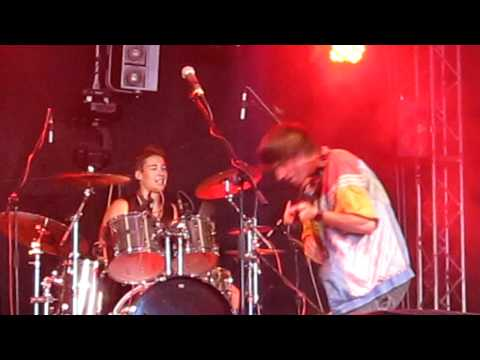 Bohemian Betyars - Punkabilly live @ RfP 2011, Czech Republic [HD]
