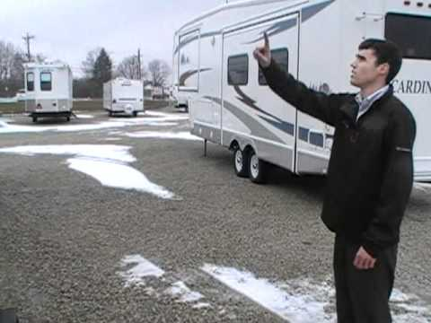 2000 Holiday Rambler Alumascape 29SKS Fifth Wheel