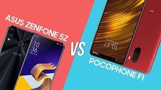 So sánh hiệu năng Asus Zenfone 5Z vs Pocophone F1