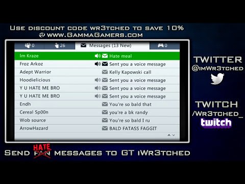 Xbox Live Hate Mail #3 - Reading Your Messages!! (Funny Xbox Messages)