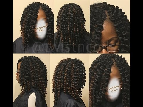 Two Strand Twist Braid Using 100 Kanekalon Hair How To