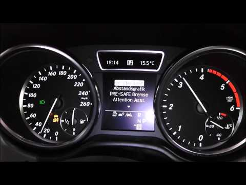Mercedes ML 350 BlueTEC 4MATIC 258 PS Acceleration Beschleunigung 0-100 km/h