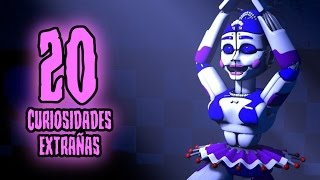 TOP: 20 Curiosidades Extrañas De Ballora En FNAF Sister Location