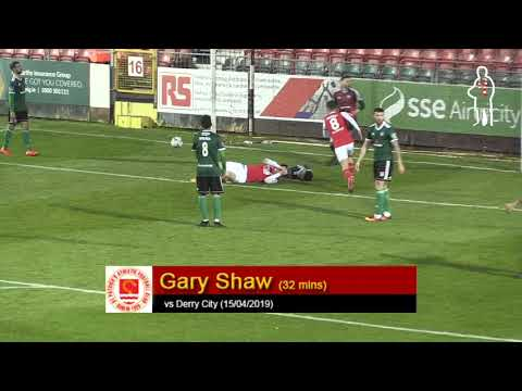 Goal: Gary Shaw (vs Derry City 15/04/2019)