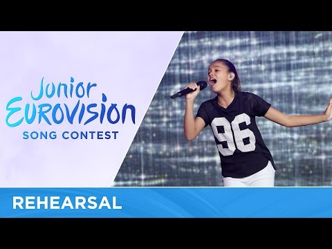 Alexa Curtis - We Are (Australia) - First Rehearsal - Junior Eurovision 2016