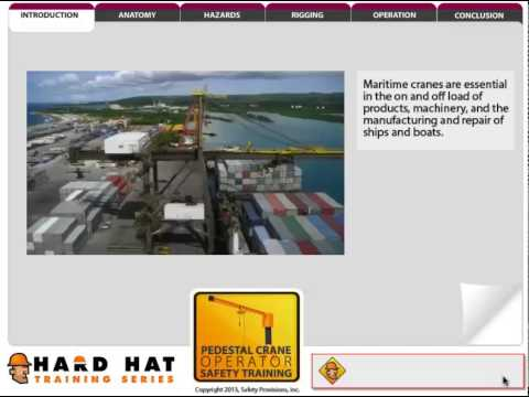 Pedestal Mounted Crane online course preview