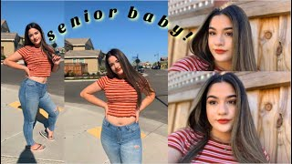 GRWM: FIRST DAY OF SCHOOL (SENIOR YEAR)