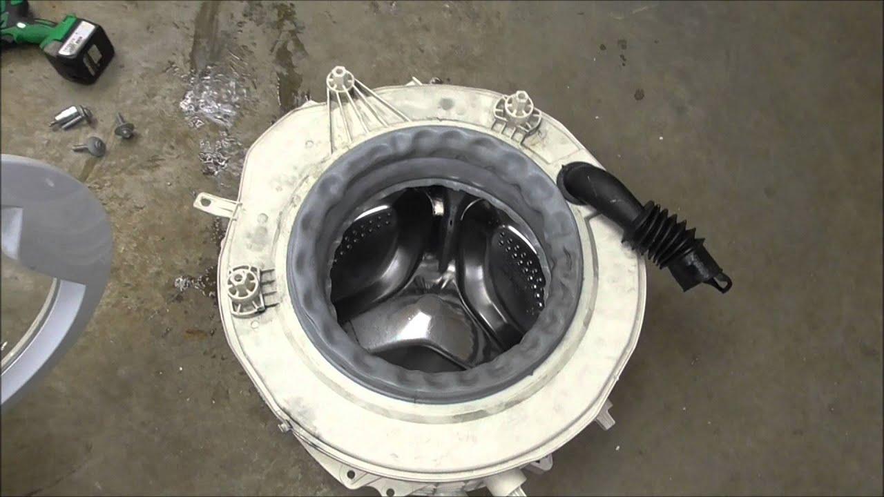 Замена подшипника стиральной машины индезит своими руками 12