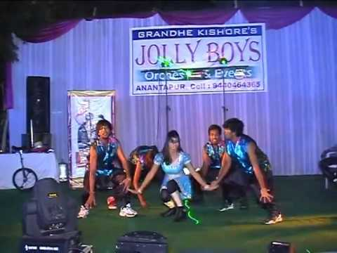 Jollyboys Orchestra(kishore),anantapur -aata Bharath Dance Group Performance video