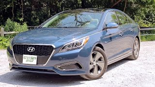 2016 Hyundai Sonata Hybrid - TEST DRIVE REVIEW