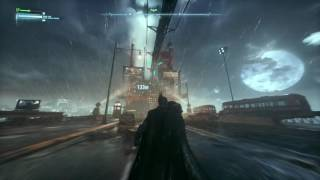 BATMAN™: ARKHAM KNIGHT - Graple Moonwalk