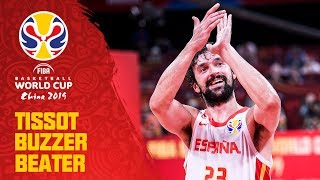 Sergio Lull DRILLS a buzzer beater from downtown to tie it up! - TISSOT Buzzer Beater!