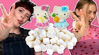 Irish People Try Hello Kitty Marshmallow Candy
