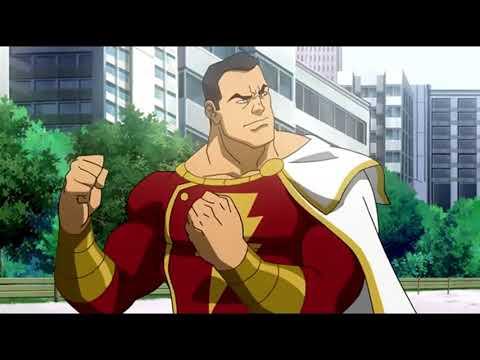Супермен и Шазам против Черного Адама ч 1