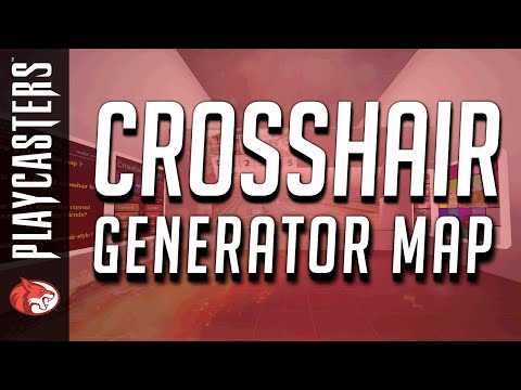 CS:GO Tip Series - crashz' Crosshair Generator Map
