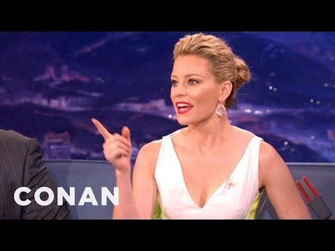 "Elizabeth Banks: ""Pitch Perfect"" Is Exactly Like ""The Hunger Games"" - CONAN on TBS"