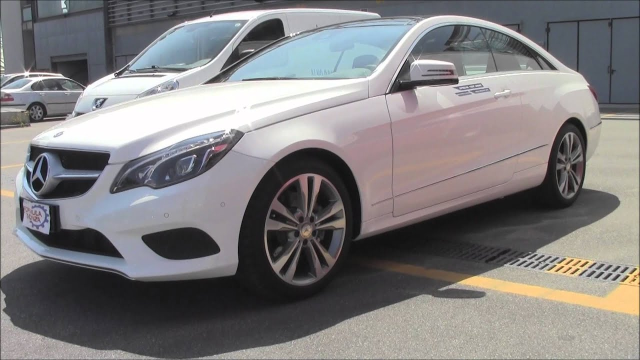 2014 mercedes e class coupe 250 cdi youtube. Black Bedroom Furniture Sets. Home Design Ideas