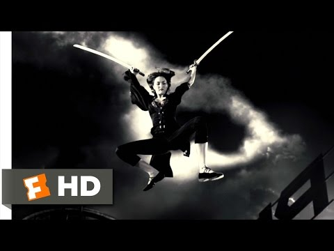 Sin City (6 12) Movie Clip - Miho Vs. Jackie Boy (2005) Hd video