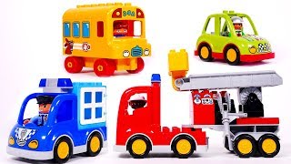 Learn Colors with Toy Car Vehicles for Children