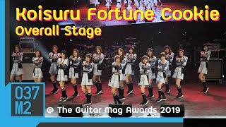 190305 BNK48 Sembatsu • Koisuru Fortune Cookie Overall Stage @ The Guitar Mag Awards 2019